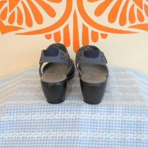 Jambu Shoes - Jambu Chloe Gray Open Toe Sandals 8.5